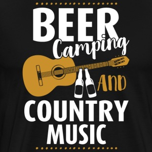 Beer Camping And Country Music - Men's Premium T-Shirt