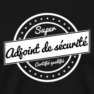 Super adjoint de sécurite - blanc - T-shirt Premium Homme