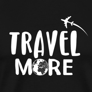 Travel More - Männer Premium T-Shirt
