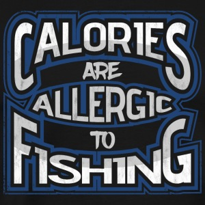 Calories are allergic to angling 2 - Men's Premium T-Shirt