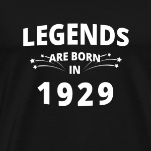 Legenden Shirt - Legends are born in 1929 - Männer Premium T-Shirt
