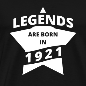 Legends are born in 1921! 02 - Männer Premium T-Shirt