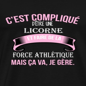 Force athle tique - T-shirt Premium Homme