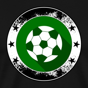 Football emblem - Ball Sports League Kreisliga - Premium T-skjorte for menn