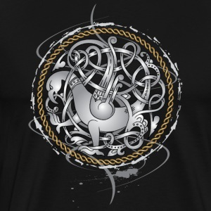 Viking Hawk - Premium-T-shirt herr