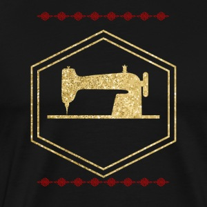 Golden sewing machine - Men's Premium T-Shirt