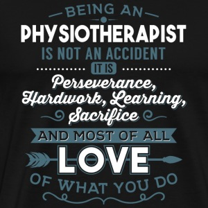 Love what you do - Physiotherapist - Men's Premium T-Shirt