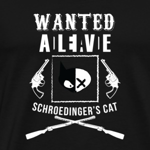 Schrödinger's cat physics student gift - Men's Premium T-Shirt