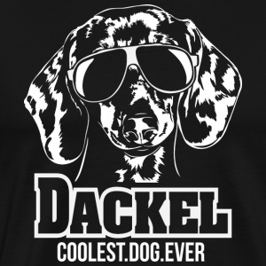 DACKEL coolest dog - Männer Premium T-Shirt