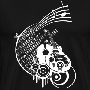 Ink dark Music - Premium-T-shirt herr