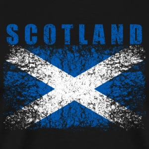 Scotland Flag 008 AllroundDesigns - Men's Premium T-Shirt