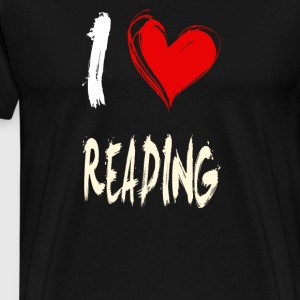 I love to read - Men's Premium T-Shirt