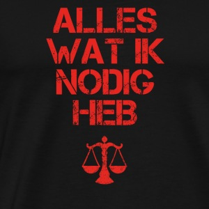 presentje wat ik nodig TUBA TROMPETE attorney-at-law - Men's Premium T-Shirt