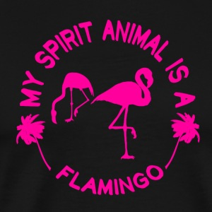 Flamingo My Spirit Animal - Männer Premium T-Shirt