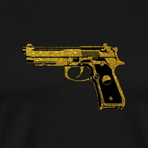 Golden Pistol - Golden gun gun owner - Men's Premium T-Shirt
