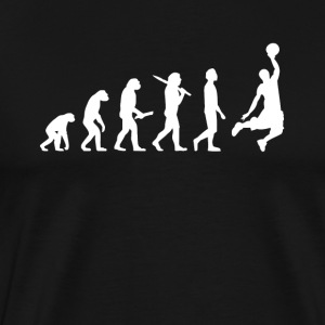 Basketball Basketballer Evolution - Men's Premium T-Shirt