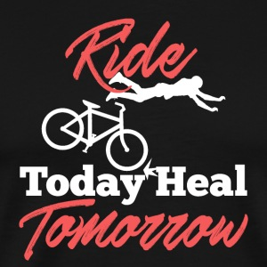 Ride Bicycle Today Heal Tomorrow - Men's Premium T-Shirt