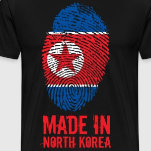 Made In North Korea / North Korea / 조선 민주주의 인민 공화국 - Men's Premium T-Shirt
