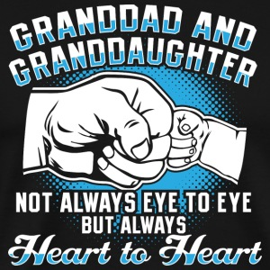Grandpa granddaughter love - Men's Premium T-Shirt