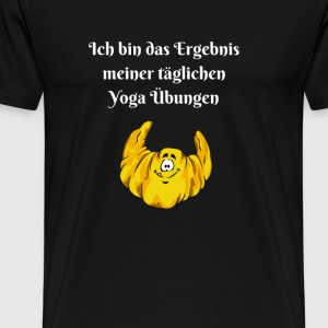 morsom yoga shirt 2 - Premium T-skjorte for menn