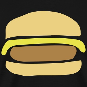 Cheeseburger Hamburger - Männer Premium T-Shirt