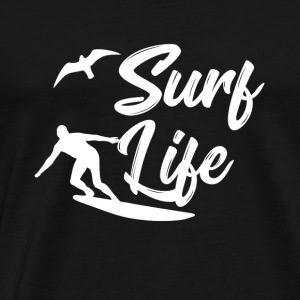 Surf Life Beach Sun Van Life Holliday Lifestyle - Men's Premium T-Shirt