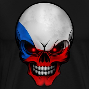 Totenkopf Czech Republic AllroundDesigns - Men's Premium T-Shirt