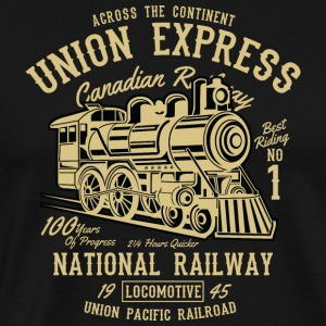 Union Express - Premium T-skjorte for menn