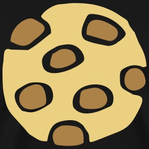 Biscuit with chocolate - Men's Premium T-Shirt