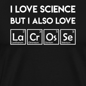 I love science elements lacrosse periodic table