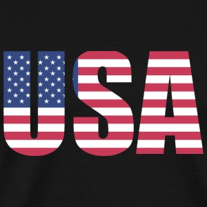 United States of America - Premium-T-shirt herr