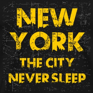 nyc never sleep - Men's Premium T-Shirt