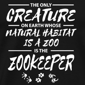 Zoo keeper Zoo animaux sauvages Animaux gardiens - T-shirt Premium Homme