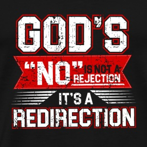God´s REDIRECTION - Männer Premium T-Shirt