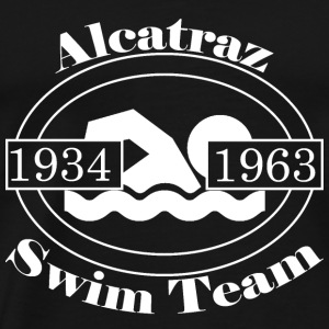 Alcatraz Swin Team White - Men's Premium T-Shirt