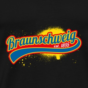 Football League Allemagne Braunschweig Lions 1895 - T-shirt Premium Homme