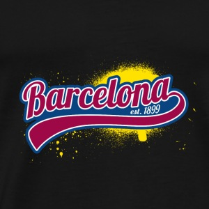 Football League Barcelona 1899 Master porte - Herre premium T-shirt