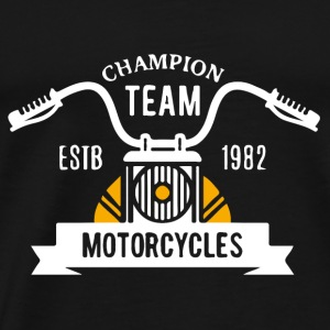 Champion Team Motorcycle - Männer Premium T-Shirt