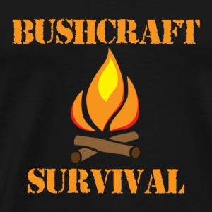 Bushcraft and Survival - Men's Premium T-Shirt