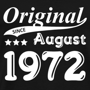 Original Siden august 1972 Gift - Premium T-skjorte for menn