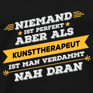 Art therapist profession gift - Men's Premium T-Shirt