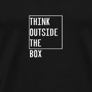THINK OUTSIDE THE BOX DIFFERENT