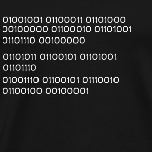 """I'm not a nerd!"" in binary code BINARY CODE"
