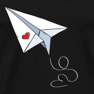 Paper Airplane With Heart - Love - Travel - Flying