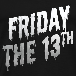Friday the 13th Retro 50-tal Halloween Bokstäver