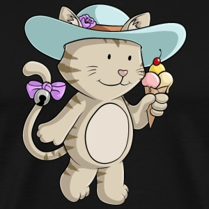 Summer cat comic - Men's Premium T-Shirt