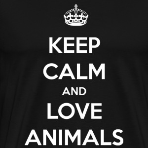 Animales / animal / zoo / regalo - Camiseta premium hombre