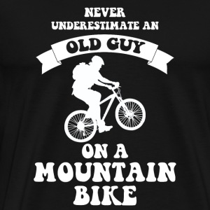 Never underestimate an old guy on a mountain bike