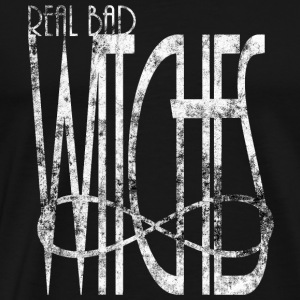 Infinity Grunge real bad witches böse Hexen BFF - Männer Premium T-Shirt