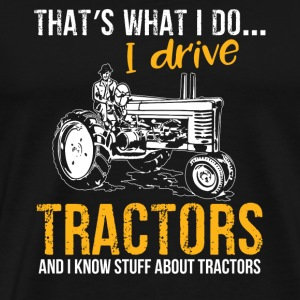 Tractor Shirt · Agriculture · I know a lot